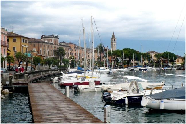 Der Gardasee in Italien