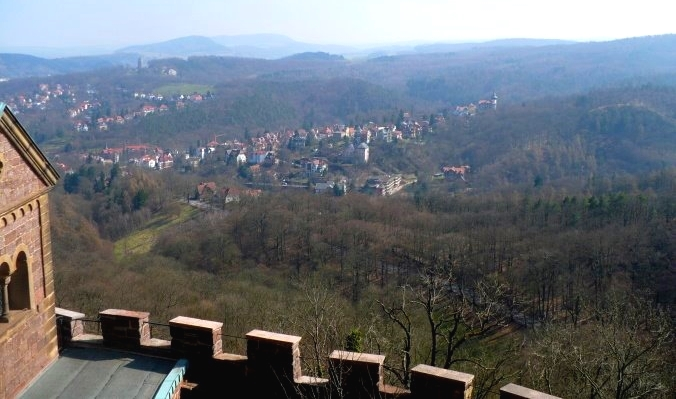 Thüringen (Oberhof und die Wartburg)