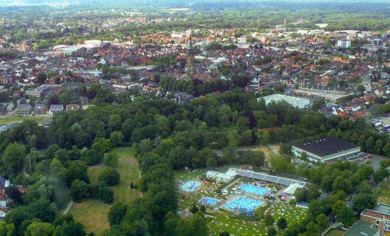 Rundflug ueber Rheine (Sommer 2010)