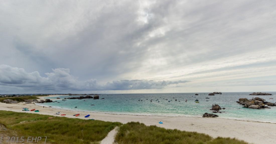 Bretagne ….. leider mit Wetterwechsel …. Roscoff und Meneham uvm