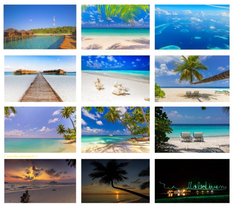Collage - Malediven - BLOG-kleiner