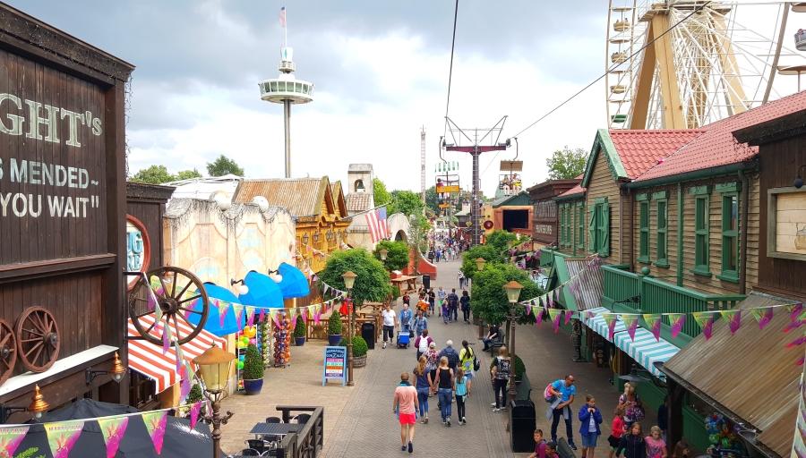 Niederlande: Freizeitpark Slagharen