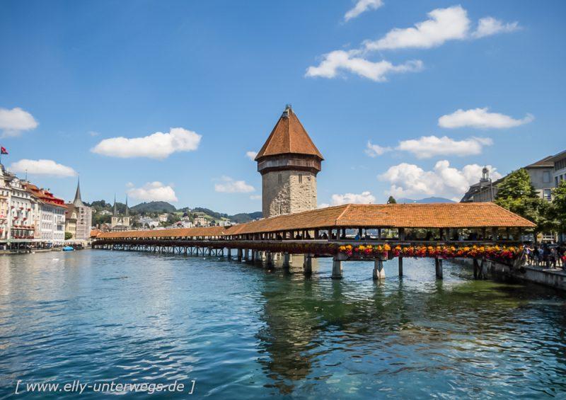 Schweiz: Luzern am Vierwaldstättersee
