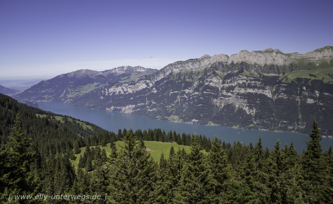 Schweiz – Region Heidiland