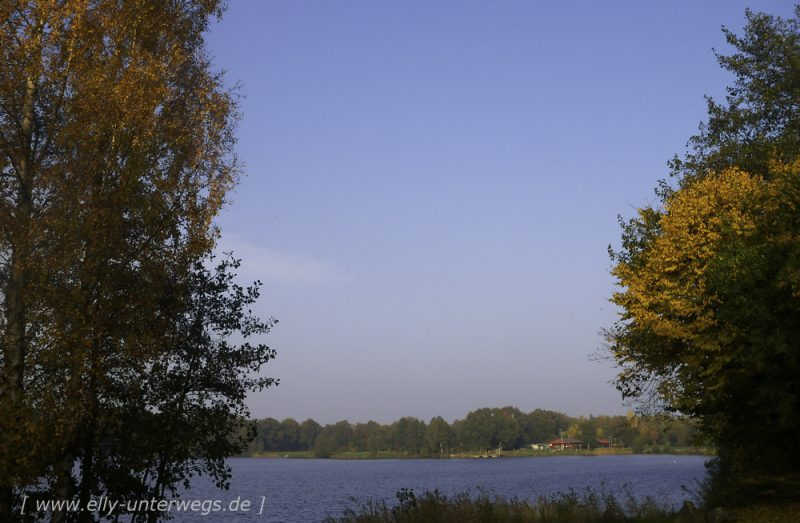 Der Torfmoorsee in Hörstel im Tecklenburger Land