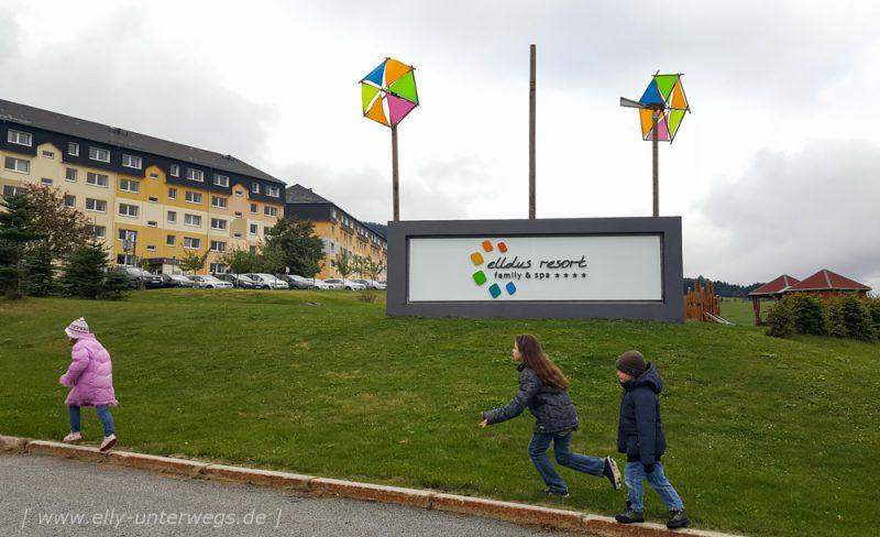 Das Elldus Family & Spa Resort in Oberwiesenthal im Erzgebirge