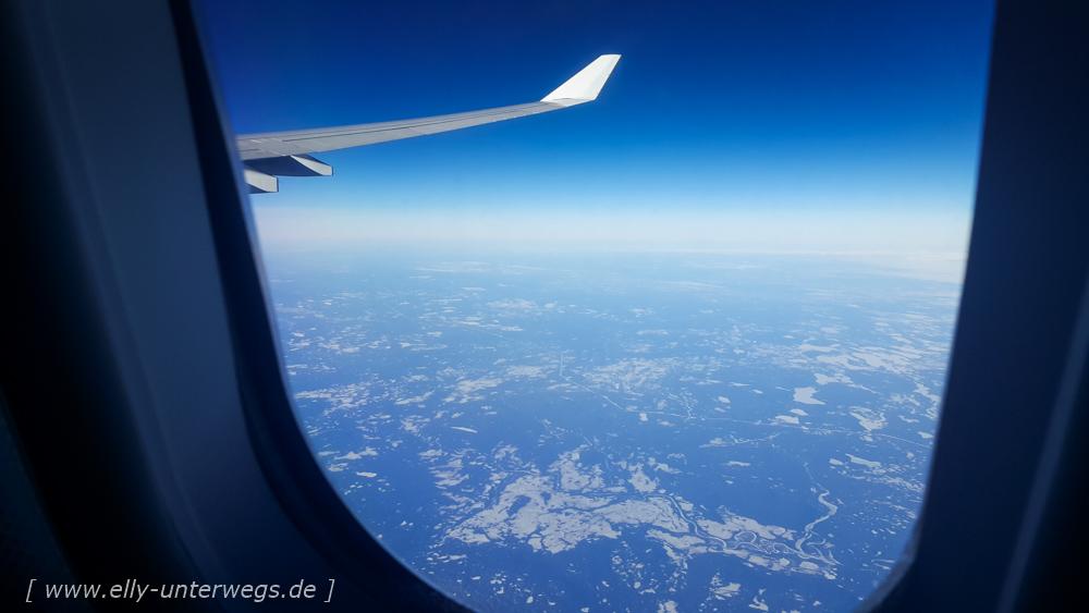 Tag 1 – Unsere Anreise nach New York: Lufthansastreik und Taxiwucher