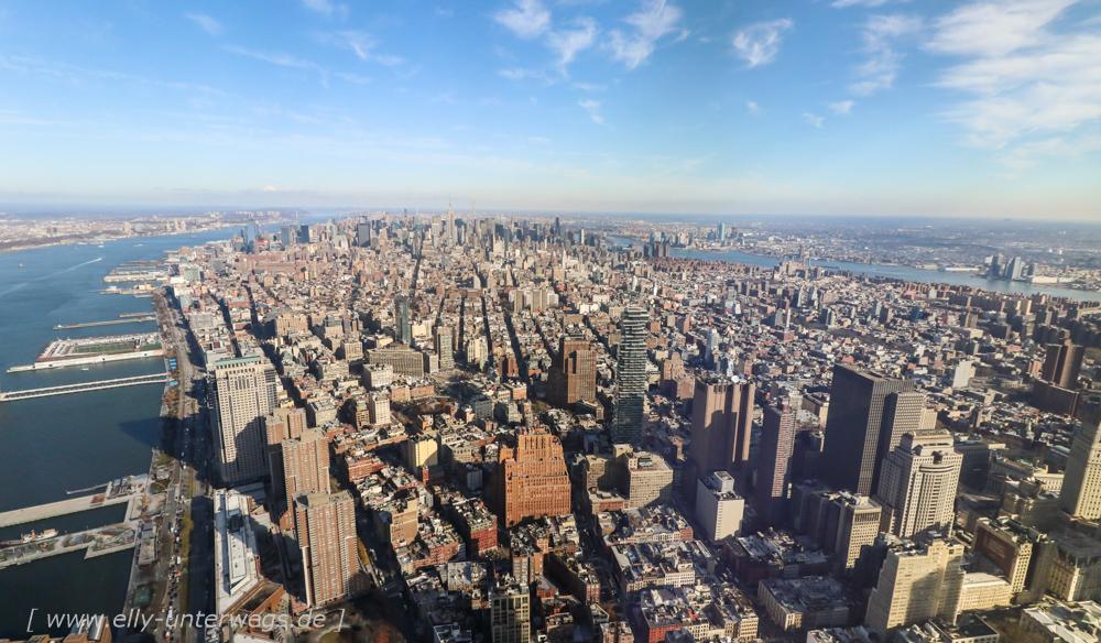 Tag 2 – One World Trade Center und Schifffahrt um Manhattan