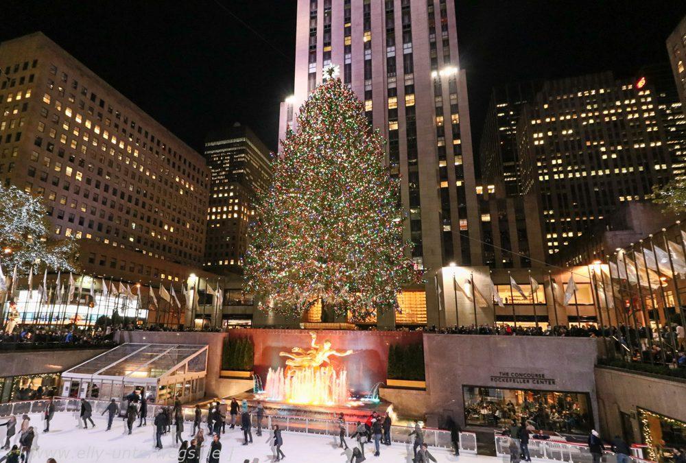 New York in der Vorweihnachtszeit
