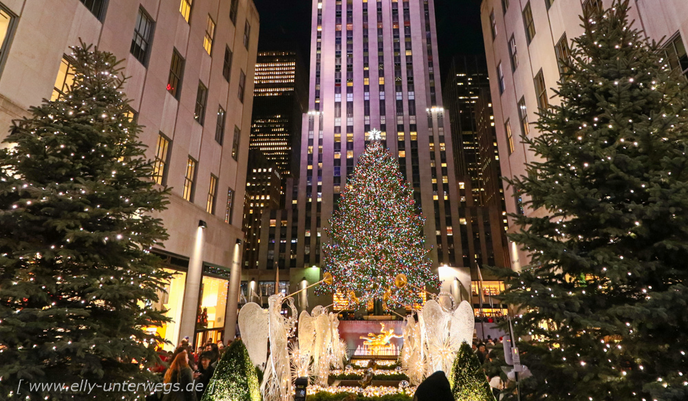 Tag 5 – Manhattan von oben – am Tag und bei Nacht. Ausserdem: Was uns im Rockefeller Center passiert ist