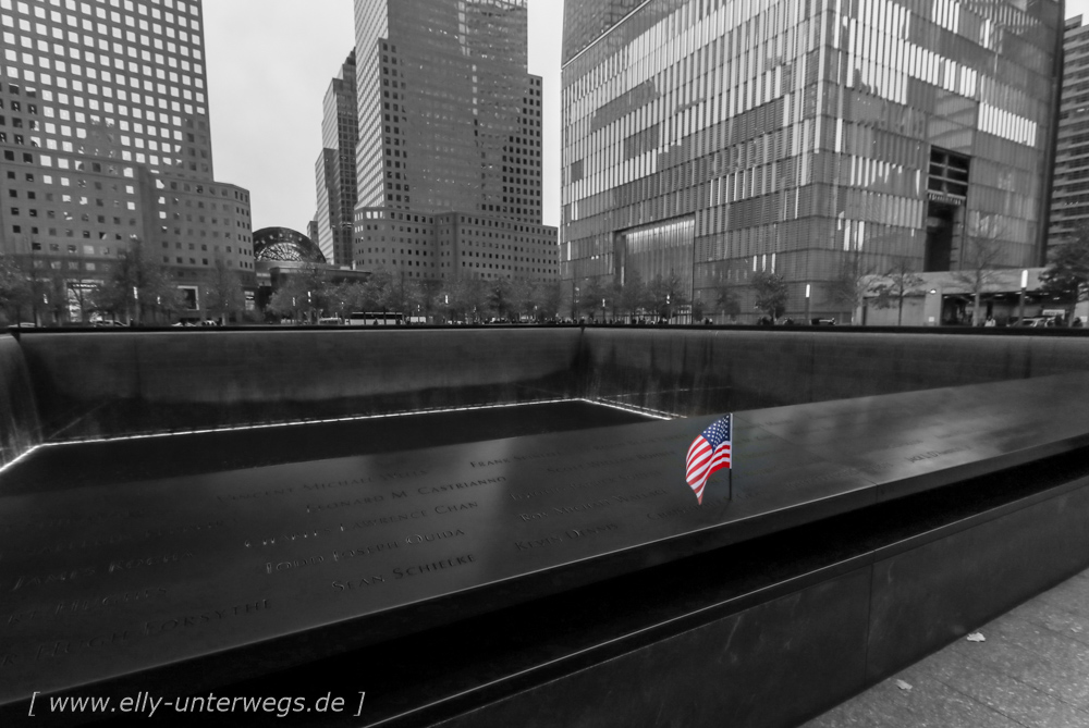 Tag 6 –  9-11 Memorial, Grand Central Station – und dann… tschüss New York