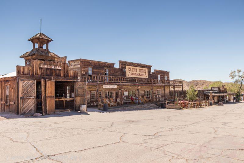 Calico – Die alte Westernstadt aus der Blütezeit des Silber-Bergbaus