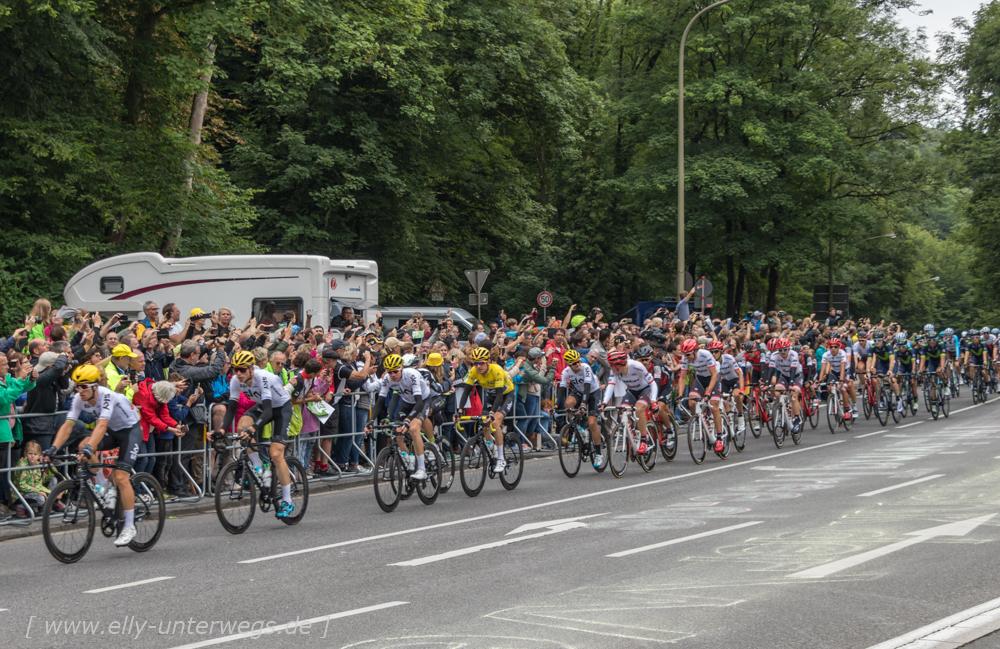 Die Tour de France im Neandertal bei Düsseldorf