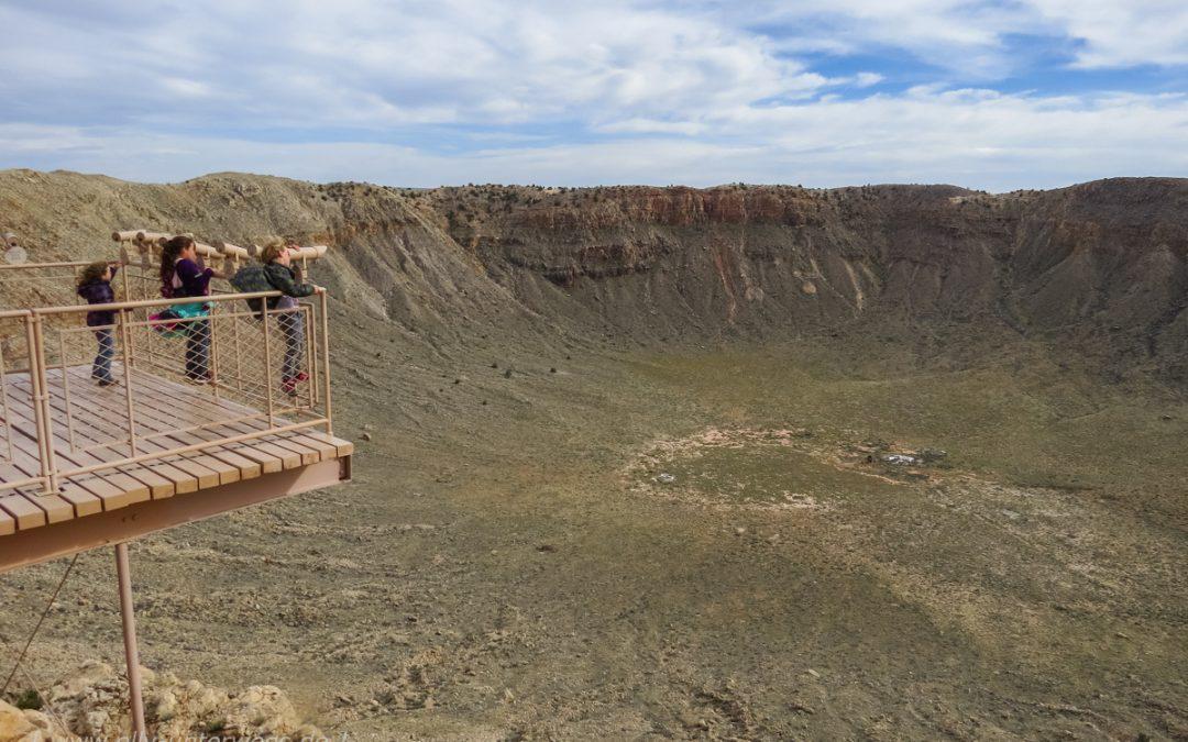 Die Fahrt geht weiter: The Flinstones, Meteor-Crater bei Winslow – und auf gehts Richtung Route 66