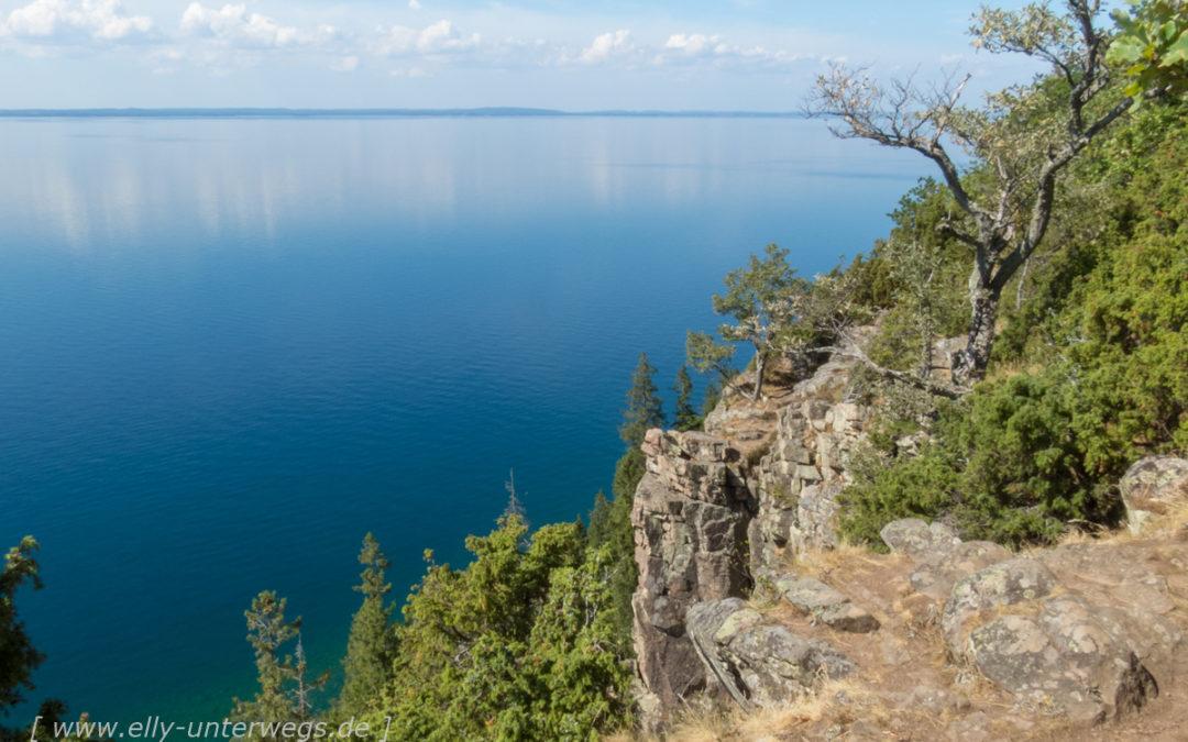 Der Vättern: Der Aussichtsberg Omberg und die Panoramastrasse