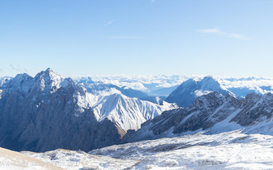 Ausflug auf die Zugspitze – einmal hoch auf das Dach von Deutschland