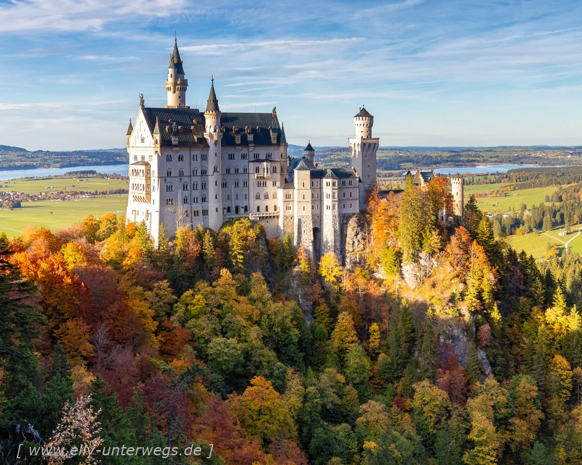 Einmal rund um Schloss Neuschwanstein
