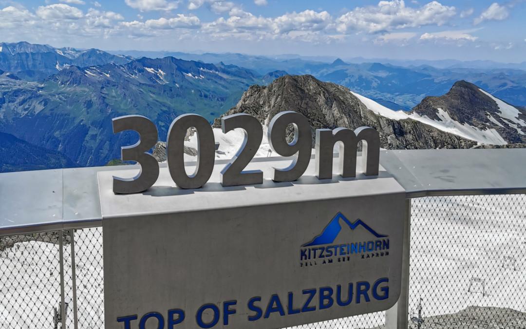 Österreich: Das Kitzsteinhorn – Rodeln im Schnee mitten im Sommer
