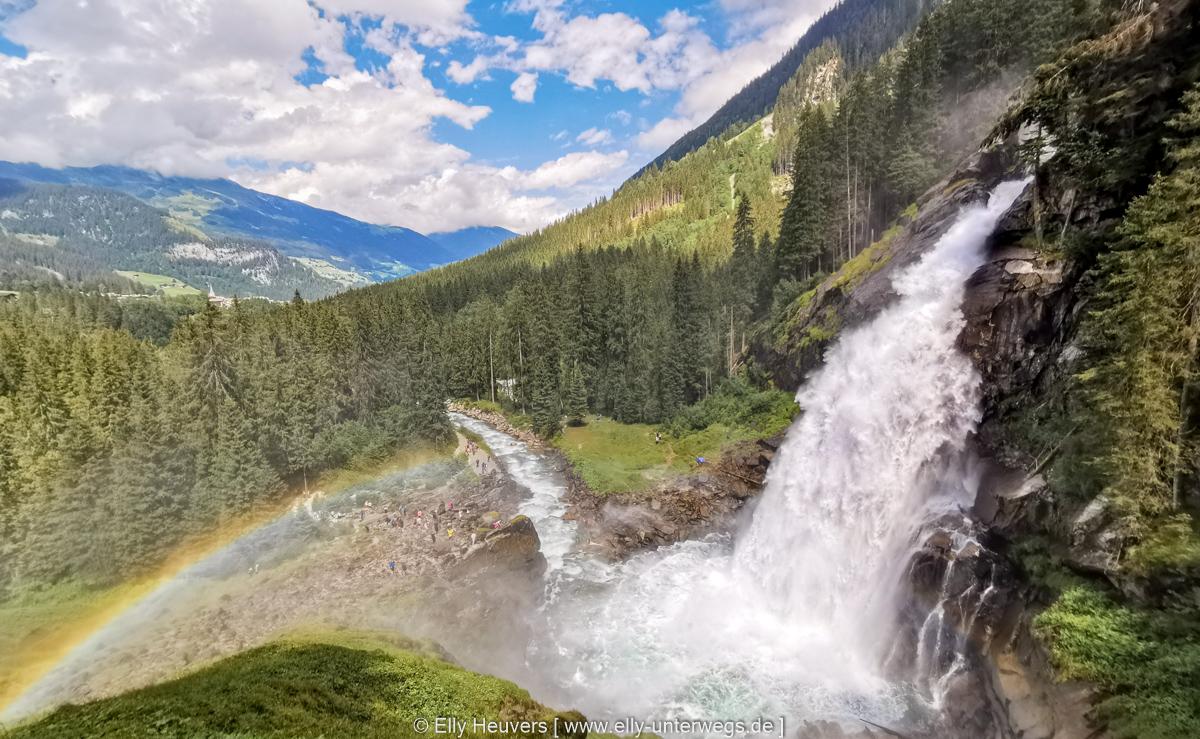 Ausflugstipp: Die Krimmler Wasserfälle – Der höchste Wasserfall Europas (Österreich)